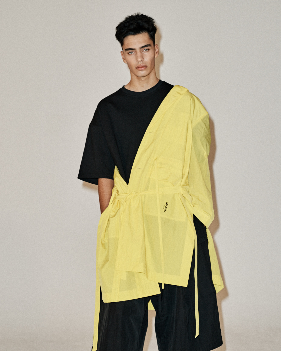 Light Weight Tailored Single Coat Yellow