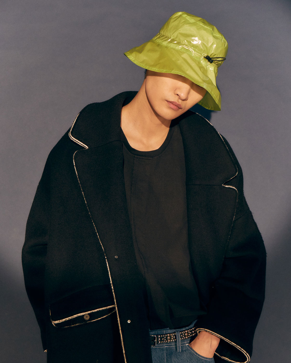 Laminated Cutout Bucket Hat