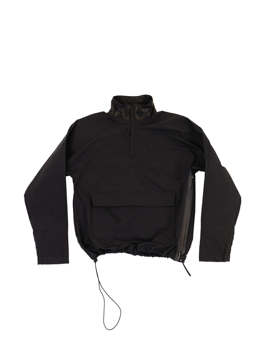 Black Anorak Jumper
