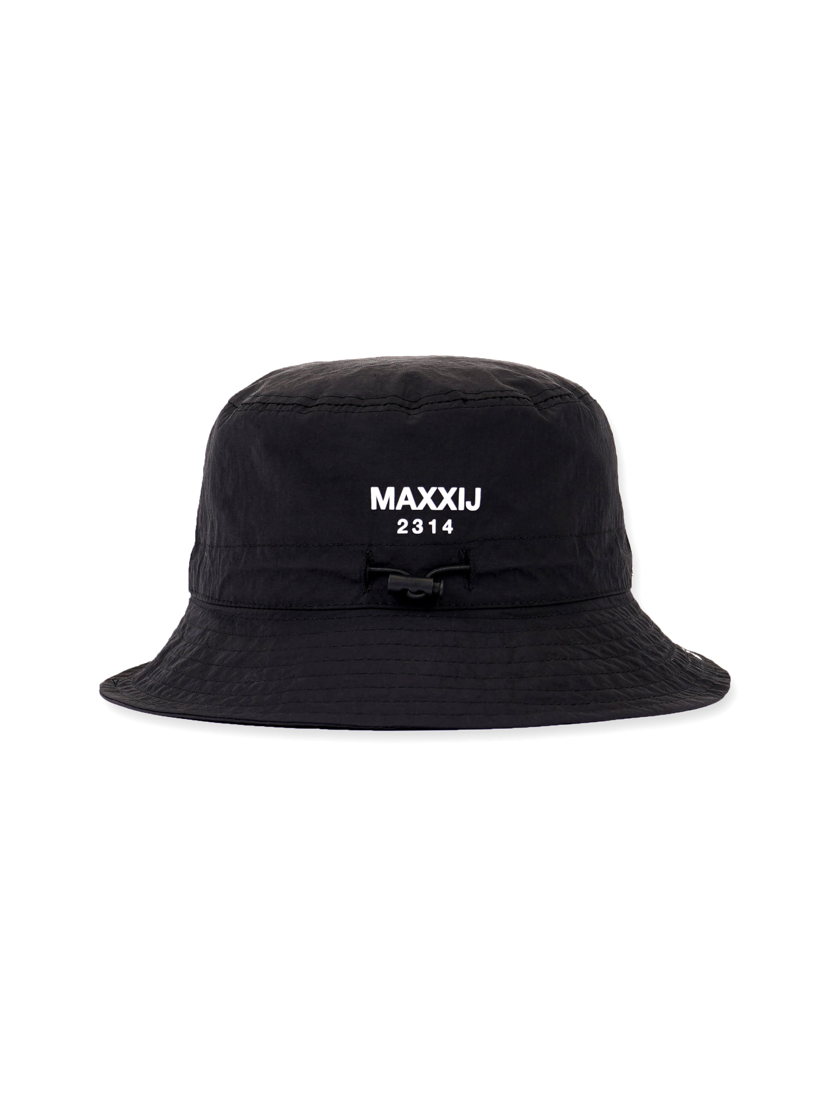 Logo Play Cotton Nylon Bucket Hat