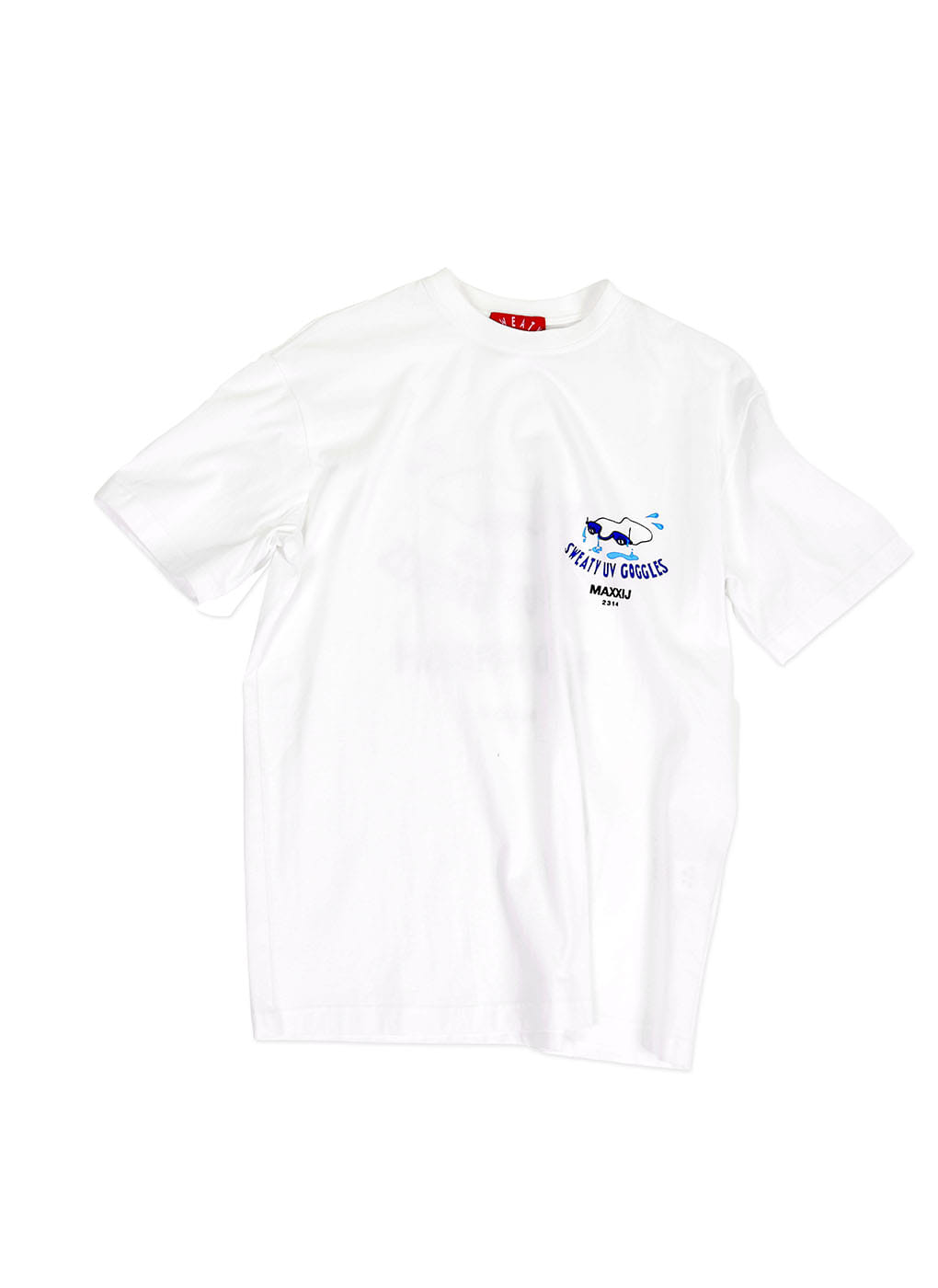 White Sweaty Goggles Cotton Jersey T-shirts