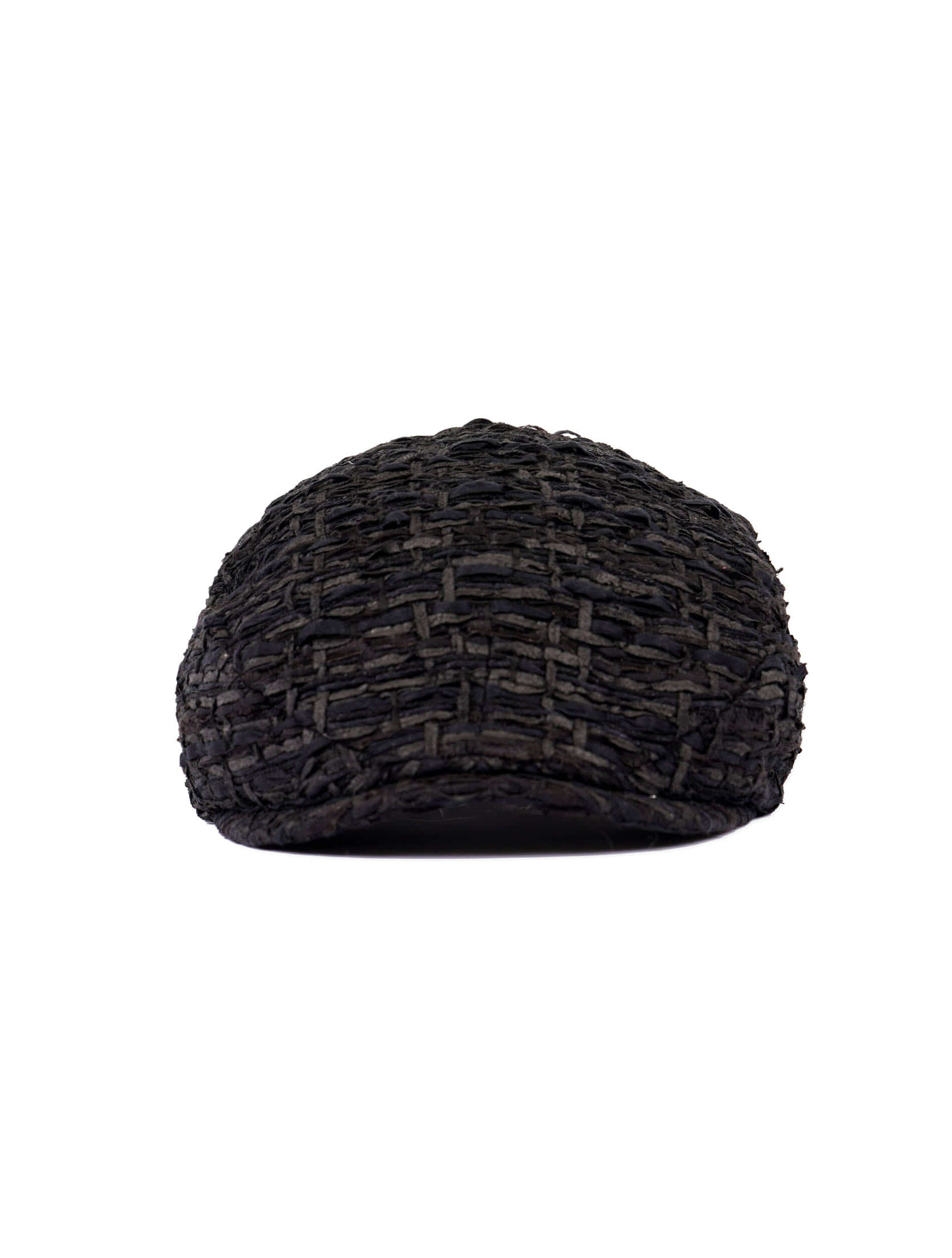 Navy/Charcoal Tweed Hunting Cap