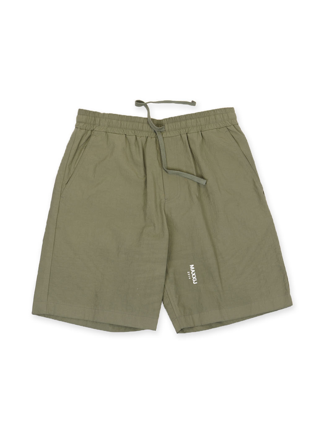 Khaki Smart Basic Shorts