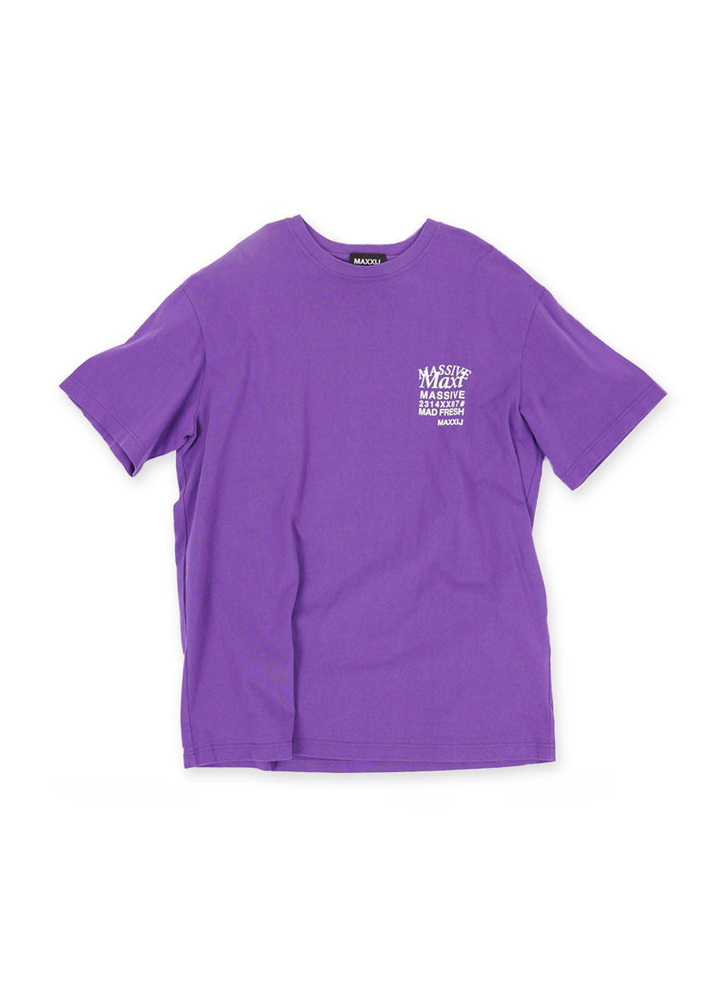 Purple 'MAXI' Printed T-shirt