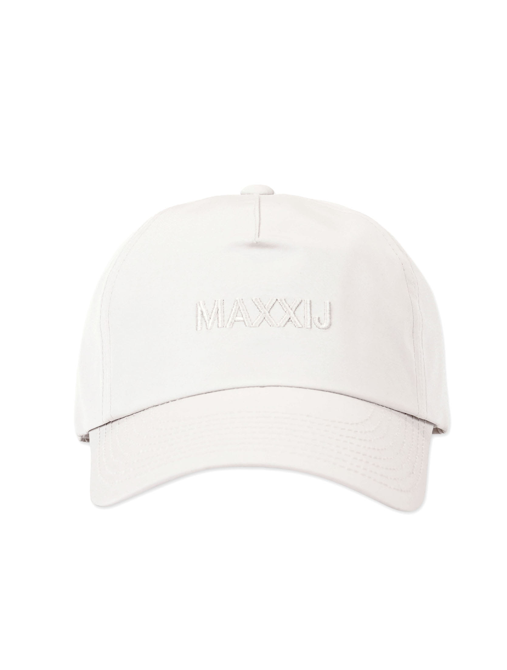 Logo Ball Cap White