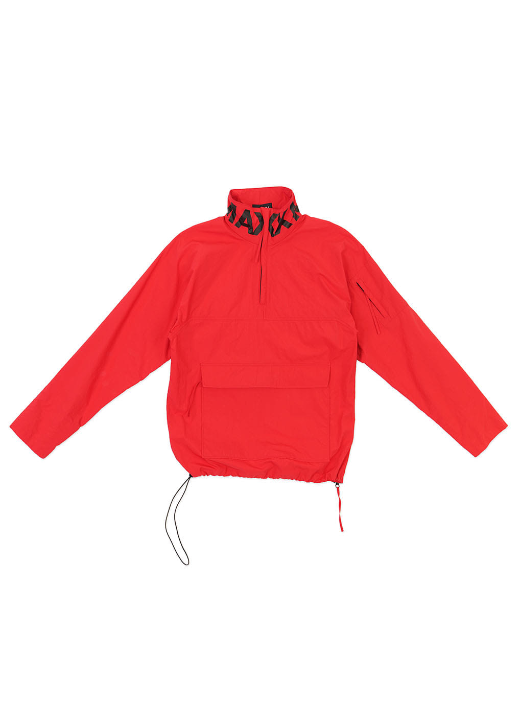 Red/Black Anorak Jumper