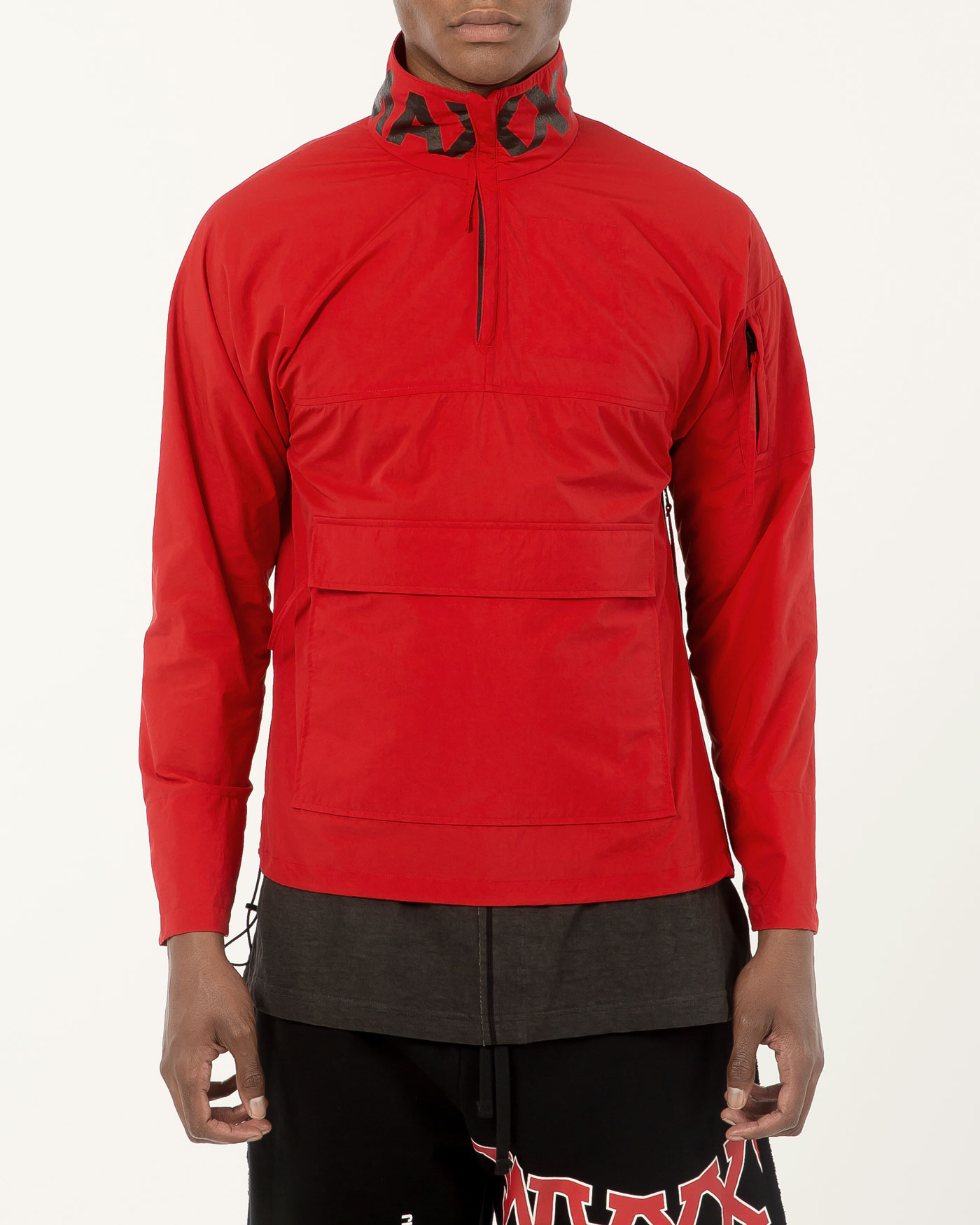 Anorak Jumper Red/Black