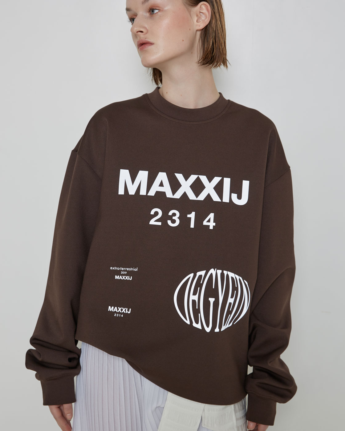 Graphic Long Sleeve Top
