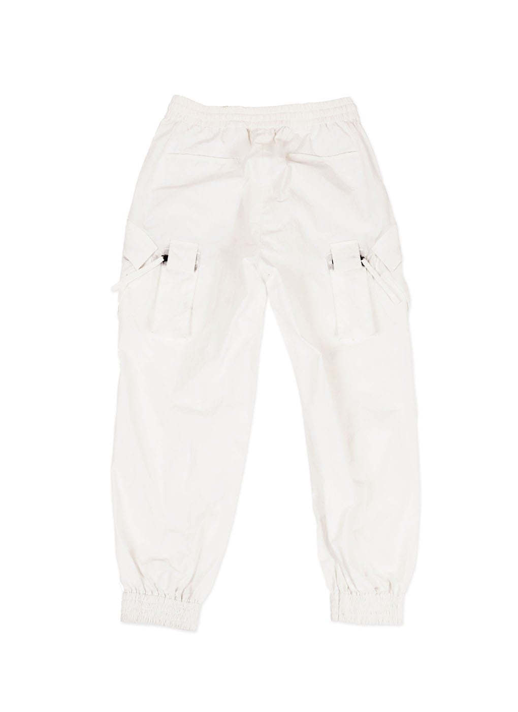 White Patch Pocket Cargo Track Pants